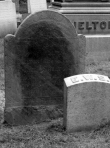 Gravestones of Elizabeth (Welles) Shelton