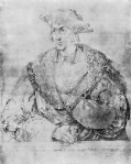Henry Parker, 10th Baron Morley, by Albrecht Dürer