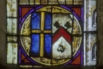 Ralph de Shelton, 6th Lord of Shelton - Shelton Church Window Pane, Shelton, Norfolk, England